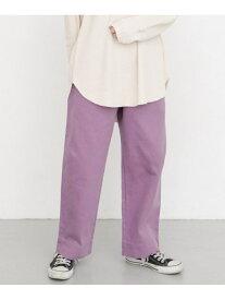 [Rakuten Fashion]カラーソフトベイカーパンツ KBF ケービーエフ パンツ/ジーンズ パンツその他 パープル ベージュ ピンク イエロー【送料無料】