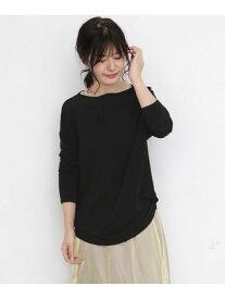 [Rakuten Fashion]ゆるストレッチロンTシャツ KBF ケービーエフ カットソー Tシャツ ブラック ホワイト グレー レッド【送料無料】