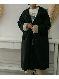 [Rakuten Fashion]【予約】ミリタリーアノラック3WAYコート KBF ケービーエフ コート/ジャケット コート/ジャケットその他 ブラック ベージュ【先行予約】*【送料無料】