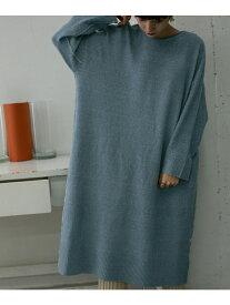[Rakuten Fashion]ルーズオーバーニットワンピース KBF ケービーエフ ワンピース ワンピースその他 ブルー ベージュ グレー【送料無料】