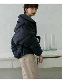 [Rakuten Fashion]異素材フードグリーンダウン KBF ケービーエフ コート/ジャケット ダウンジャケット ネイビー ベージュ【送料無料】