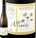 マルク・テンペ・アリアンス 2016【フランス】【白ワイン】【750ml】【ミディアムボディ】【やや辛口】