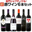 [クーポンで10%OFF]【送料無料】名門シャプティエも!元ムートン醸造担当者ワインも!全て赤ワイン6本セット!