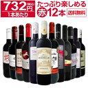 【送料無料】第24弾!1本あたり732円(税込)!!採算度外視の大感謝!厳選赤ワイン12本セットワイン ワインセット セット …