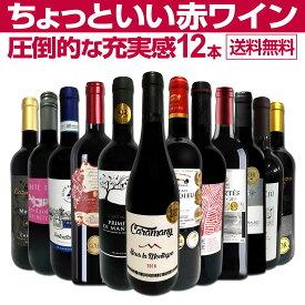 【送料無料】第30弾!当店オススメばかりを厳選したちょっといい赤ワイン12本セット!ワイン ワインセット セット 赤ワインセット 赤ワイン 赤 飲み比べ 送料無料 ギフト プレゼント 750ml フルボディ