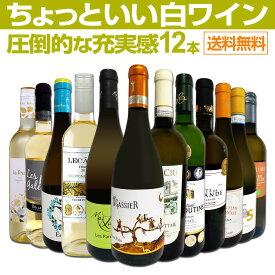 【送料無料】第28弾!当店オススメばかりを厳選したちょっといい白ワイン12本セット!