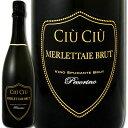 チウ・チウ・メルレッタイエ・ブリュット イタリア スパークリングワイン ミディアムボディ スパーク ぶどう酒