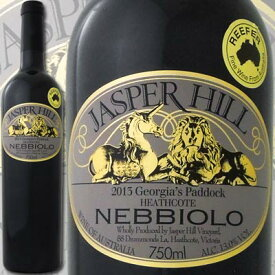 ジャスパー・ヒル パドック・ネッビオーロ 2013【オーストラリア】【赤ワイン】【750ml】【フルボディ】【辛口】【ネッビオーロ】【ビオディナミ】