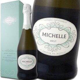 ドメーヌ・サン・ミシェル・ブリュット【アメリカ】【白スパークリングワイン】【750ml】【ミディアムボディ】【辛口】