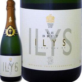 イリス・ル・ブリュット・ド・ロワール【白スパークリングワイン】【750ml】【ミディアムボディ】