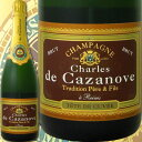 クーポン シャンパーニュ シャルル・ド・カサノーヴ・ブリュット フランス スパークリングワイン ミディアムボデ