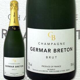 シャンパン 金賞 シャンパーニュ・ジェルマール・ブルトン・ブリュット【辛口】【シャンパン】【750ml】【Germar Breton】【金賞】