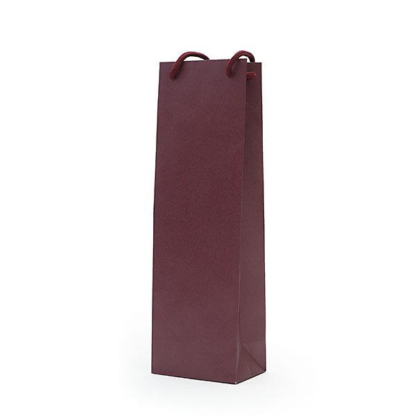 手提げ袋 ワイン 手提げ袋(1本用)【ワインレッド】【1本用ギフトボックスは入りません】