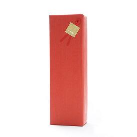ギフトボックス(1本用)包装紙【赤】・のし可