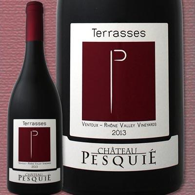シャトー・ペスキエ・キュヴェ・レ・テラス 2014【フランス】【赤ワイン】【750ml】【フルボディ】【辛口】【パーカー】【Chateau Pesquie Cuvee des Terrasses】