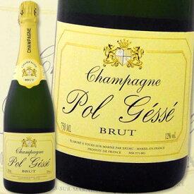 [クーポンで7%OFF]シャンパーニュ シャンパーニュ・ポル・ジェス・ブリュット【辛口】【シャンパン】【750ml】【Pol Gesse】【G.H.Martel】