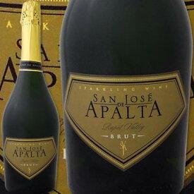 サン・ホセ・デ・アパルタ・ブラン・ド・ブラン・ブリュット【チリ】【スパークリングワイン】【750ml】【辛口】【San Jose de Apalta】【シャルドネ100%】【金賞】