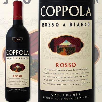 コッポラ・ロッソ2015【アメリカ 赤ワイン 750ml ミディアムボディ 辛口 カリフォルニア Coppola】