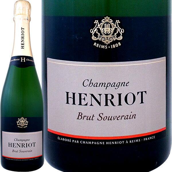 アンリオ・ブリュット・スーヴェラン【シャンパン】【750ml】【正規】【箱入り】【Henriot】