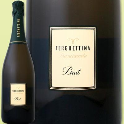 フェルゲッティーナ・フランチャコルタ・ブリュット【イタリア】【白スパークリングワイン】【750ml】【ミディアムボディ】【辛口】