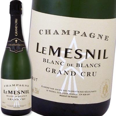 シャンパーニュ・ル・メニル・ブラン・ド・ブラン・グラン・クリュ・ブリュット【フランス】【シャンパン】【750ml】【辛口】【Le Mesnil】