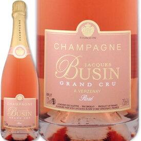 シャンパン 辛口 シャンパーニュ・ジャック・ブサン・グラン・クリュ・ブリュット・ロゼ【辛口】【シャンパン】【750ml】【Jacques Busin】