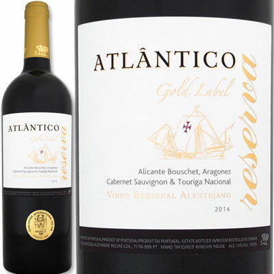 [クーポンで7%OFF]アトランティコ・レゼルヴァ(最新ヴィンテージでお届け)【ポルトガル】【赤ワイン】【750ml】【フルボディ】【ワイン王国トップ・オブ・トップ】