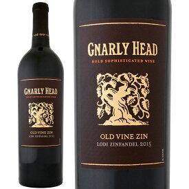 ナーリー・ヘッド・オールドヴァイン・ジンファンデル2015【カリフォルニア】【赤ワイン】【750ml】【バリュー】