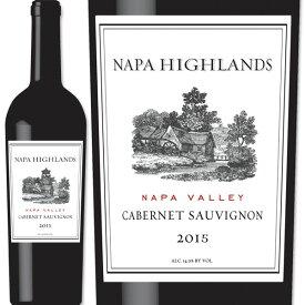 ナパ・ハイランズ・ナパ・ヴァレー・カベルネ・ソーヴィニョン 2016アメリカ 赤ワイン 750ml フルボディ 辛口