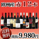 【送料無料】第81弾!超特大感謝!≪スタッフ厳選≫の激得赤ワイン12本9,980円(税別)セット!