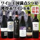 【送料無料】ワイン王国創刊100号記念!今度は赤ワインだけ!歴代5つ星のトップ・オブ・トップの赤ワイン6本セット!