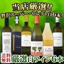 【送料無料】第87弾!当店厳選!これぞ極旨辛口白ワイン!『白ワインを存分に楽しむ!』味わい深いスーパー・セレクト白6本セット!