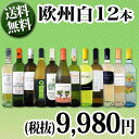 【送料無料】第64弾!超特大感謝!≪スタッフ厳選≫の激得白ワイン12本9,980円(税別)セット!
