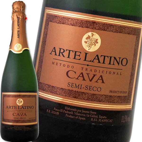 スパークリングワイン 甘口 アルテラティーノ・カヴァ・セミセコ【スペイン】【白スパークリングワイン】【750ml】【ミディアムボディ】【やや甘口】