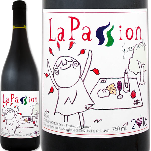 ラ・パッション・グルナッシュ 2016フランス 赤ワイン 750ml ミディアム 楽天ランキング 神の雫