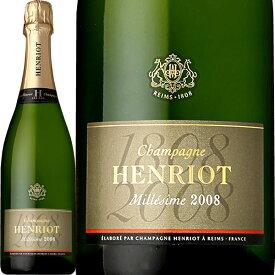 シャンパーニュ・アンリオ・ブリュット・ミレジメ 2008【シャンパン】【正規】【Henriot】【フランス】【750ml】【ミディアムボディ】【辛口】
