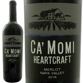 カ・モミ ナパ・ヴァレー・メルロー 2017アメリカ 赤ワイン 750ml フルボディ 辛口