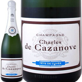 スパークリングワイン 白 シャンパーニュ・シャルル・ド・カサノーヴ・ブリュット フランス 白スパークリングワイン 750ml ミディアムボディ 辛口 スパークリングワイン スパークリング ワイン ギフト プレゼント