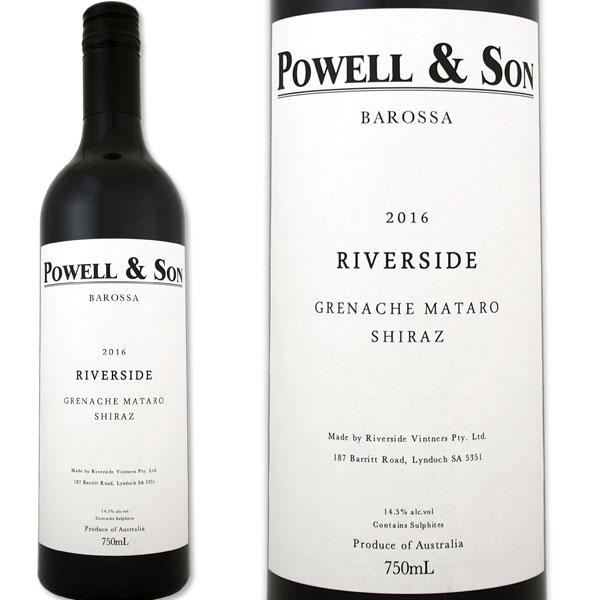 パウエル&サン・リヴァーサイドGMS 2016オーストラリア 赤ワイン 750ml フルボディ グルナッシュ、シラー、ムールヴェードル バロッサ・ヴァレー パーカー