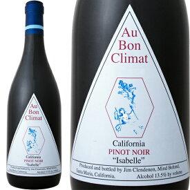 オー・ボン・クリマ・イザベル・ピノ・ノワール2017【アメリカ】【赤ワイン】【750ml】【辛口】【Au Bon Climat】