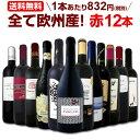 ワイン 【送料無料】第98弾!超特大感謝!≪スタッフ厳選≫の激得赤ワインセット 12本!