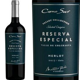 コノスル・メルロー・レゼルヴァ・エスペシャル・ヴァレー・コレクション(最新ヴィンテージ)【チリ】【赤ワイン】【750ml】【辛口】【フルボディ】