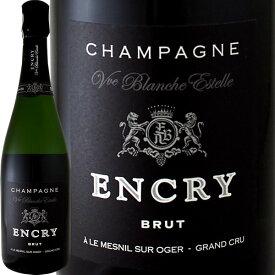 シャンパーニュ・エンクリ・ブリュット・ブラン・ド・ブラン・グランクリュ!【シャンパン】【750ml】【レコルタン】【Encry】