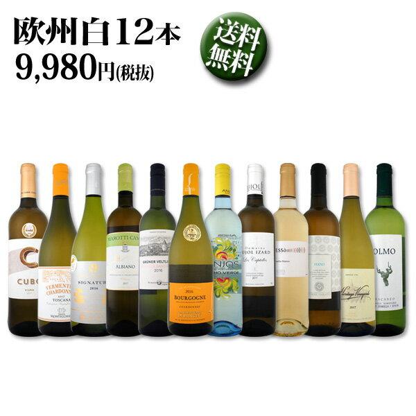【送料無料】第76弾!超特大感謝!≪スタッフ厳選≫の激得白ワイン12本9,980円(税別)セット!