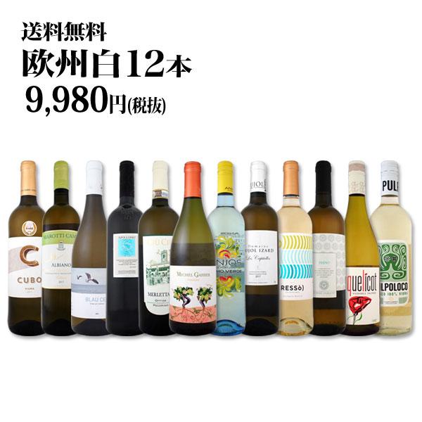 【送料無料】第77弾!超特大感謝!≪スタッフ厳選≫の激得白ワインセット 12本!