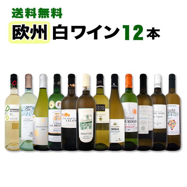 白ワイン セット 【送料無料】第82弾!超特大感謝!≪スタッフ厳選≫の激得白ワインセット 12本!
