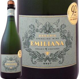 エミリアーナ・オーガニック・スパークリング・ブリュット【チリ】【スパークリングワイン】【750ml】【ミディアムボディ】【辛口】【Emiliana】
