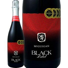 マクギガン・ブラック・ラベル・シラーズ・スパークリング【スパークリング赤】【750ml】【オーストラリア】【McGuigan】【バーベキュー】