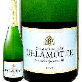 シャンパーニュ・ドラモット・ブリュット NV【シャンパン】【750ml】【正規】【箱入り】【Delamotte】【パーカー91点】