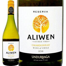 アリウェン・シャルドネ・レゼルヴァ 2018【チリ】【白ワイン】【750ml】【辛口】【ウンドラーガ】【シャルドネ100%】